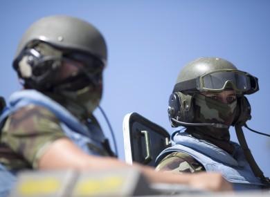 FILE: UN Peacekeepers