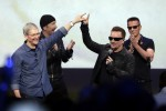 "Bono hits back at the ""haters"" after Apple criticism"