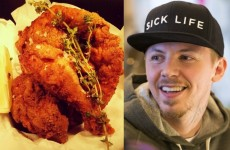Two lads are driving a Crackbird dinner from Dublin to Derry for Professor Green