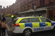 George's Street closed after rush-hour accident