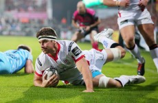 Clinical Ulster prove for too much for Zebre
