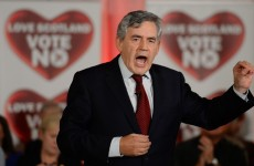 Gordon Brown gave a Scottish referendum speech – and people were shocked at how good it was