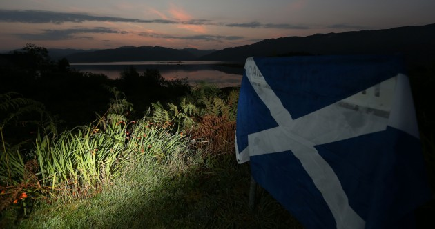 Date with destiny: Scotland awake as counting begins in independence vote