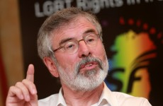 Gerry Adams is off to New York to see the Clintons tomorrow – but he's flying economy class