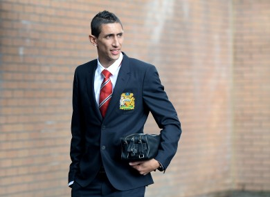 Angel Di Maria was one of several high-profile names to arrive at United during the summer transfer window.
