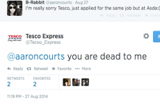 Twitter suspended a 'Sweary Tesco' parody account