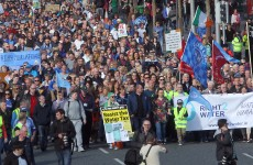 Almost 100 anti-water charges protests planned across the country