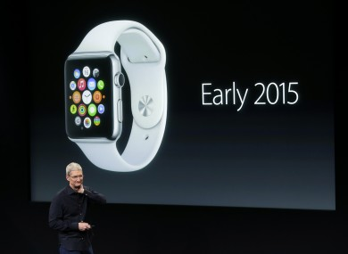 Apple CEO Tim Cook talks about the new Apple Watch