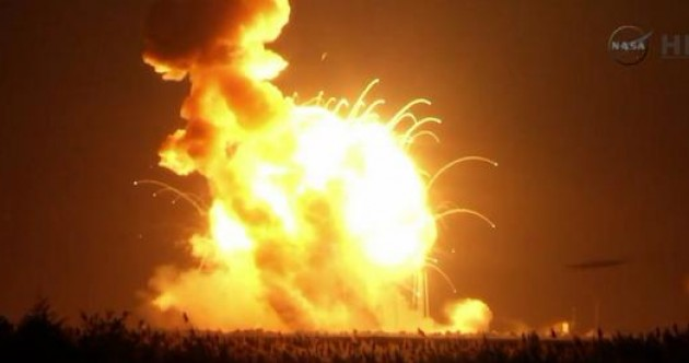 NASA says it is disappointed at launch explosion – but it was just a 'mishap'