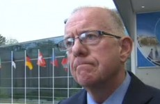 Charlie Flanagan has been in Europe to discuss how to fight Ebola