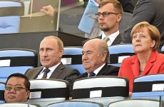 Blatter pledges 'unconditional support' for World Cup in Russia