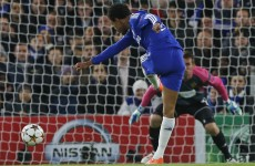 Loïc Remy gives Chelsea an early lead, comes off injured almost immediately