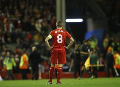 Gerrard has made over 480 Premier League appearances for Liverpool.