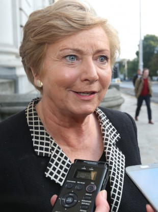 Justice Minister Frances Fitzgerald (File photo)