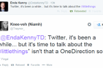 Here are some of the interesting and hilarious responses to Enda's first tweet in three years