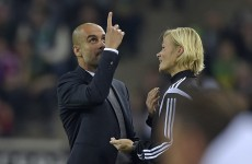 Bayern Munich manager Pep Guardiola could be in trouble after this incident