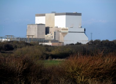 The existing Hinkley Point nuclear power station in Somerset.