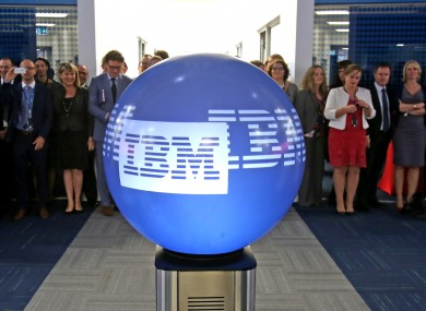 IBM staff at its Technology Campus in Mulhuddart, Co Dublin.