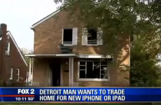 A man is offering to trade his house for an iPhone 6