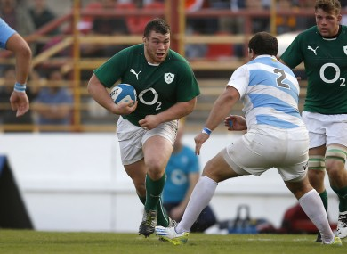 Jack McGrath has started two games for Ireland at loosehead.