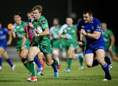 Kieran Marmion continues at scrum-half for Connacht.