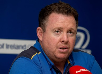 O'Connor is confident his side can continue their winning run.