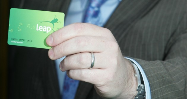 Soon you'll be able to top up your Leap card by touching it against your smartphone
