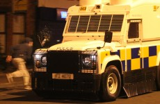 Police come under attack from dozens of youths in East Belfast