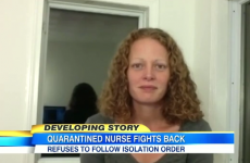 """It's not science-based"" – Nurse who treated Ebola patients refuses to be quarantined"