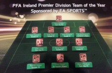 Dundalk, Cork City and St Pat's make up entire PFAI Team of the Year