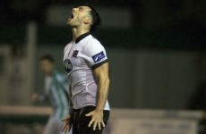 Dundalk's title bid takes a hit after 1-1 draw in Bray