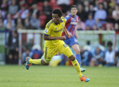 Loic Remy started for Chelsea in place of the injured Diego Costa.