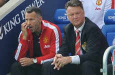 Giggs hails Van Gaal for giving youngsters a chance