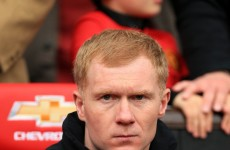 Scholes criticises City's fans lack of support