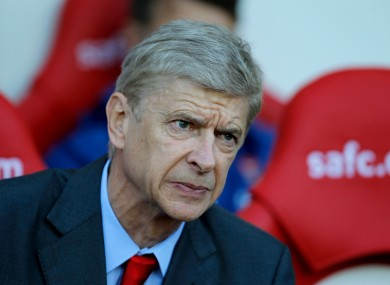 Arsenal's manager Arsene Wenger has played down the hype currently surrounding Chelsea.