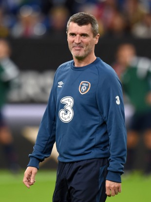 Republic of Ireland assistant manager Roy Keane during the UEFA Euro 2016 Qualifying match.
