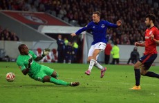 Everton held by Lille but remain top in Europa League