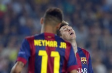 Neymar, Messi strike to ease Barca past Ajax while PSG strike late in Nicosia