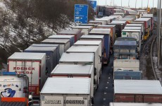 """An absolute disgrace"" – Hauliers hit back at criticism of Monday's blockade"