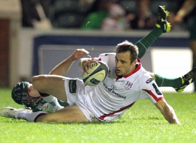 Tommy Bowe's try started the Ulster comeback.
