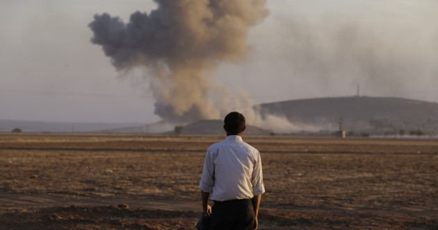 US warns that air strikes alone will not stop advancement of Islamic State