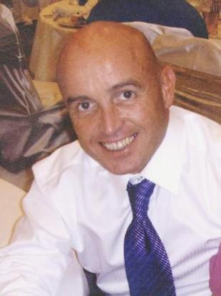 Kevin Kearney who was shot in Belfast last year.