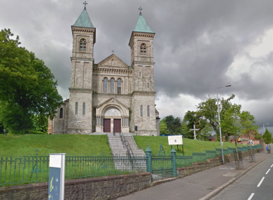 Holy Cross Church where the device was found