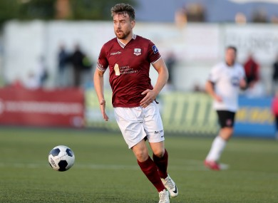 Vinny Faherty was in action for Galway today (file pic)