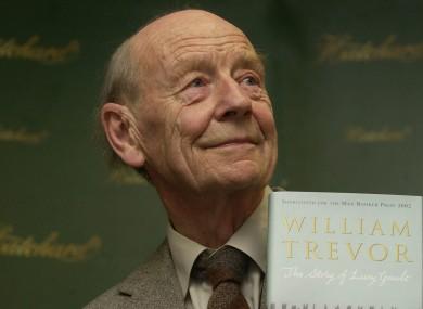 Irish author William Trevor