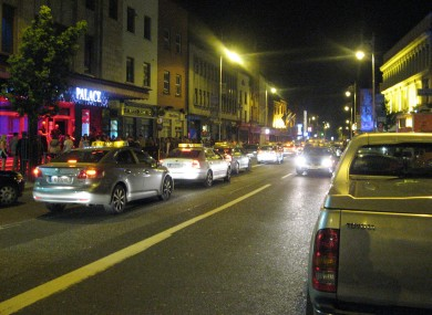 Camden Steet, Dublin at night. (File photo)
