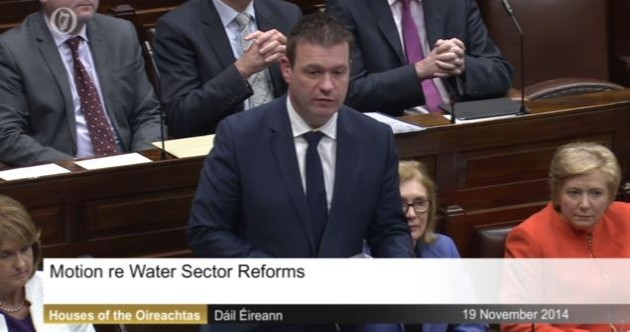 LIVE: Watch the government's new water charges announcement