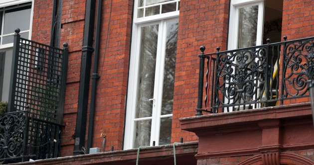 Two dead after balcony collapses in London