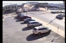Woman crashes stolen car, accidentally demolishes building