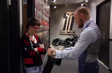 Conor McGregor paid team-mate Aisling Daly a visit ahead of her latest TUF bout
